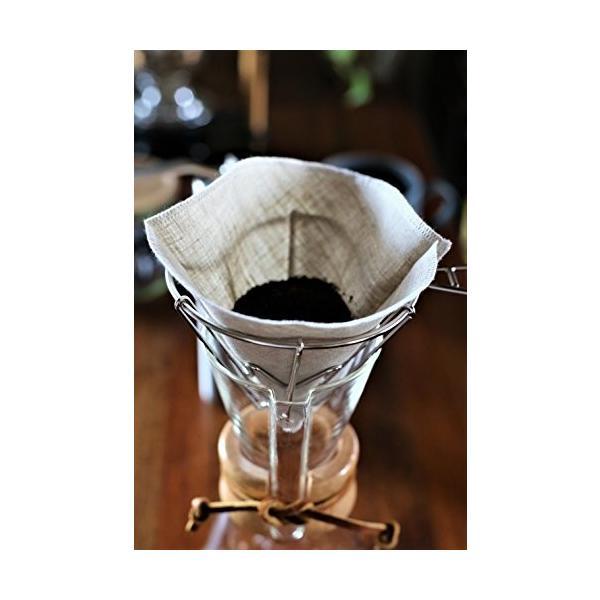 洗って繰り返し使えるコーヒーフィルター1〜4杯用3枚入り 日本製 (アソート3色)|bonne-journee|05