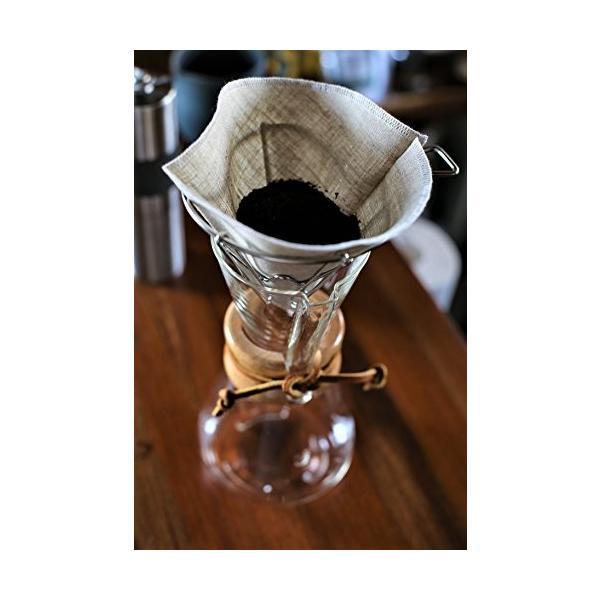 洗って繰り返し使えるコーヒーフィルター1〜4杯用3枚入り 日本製 (アソート3色)|bonne-journee|06