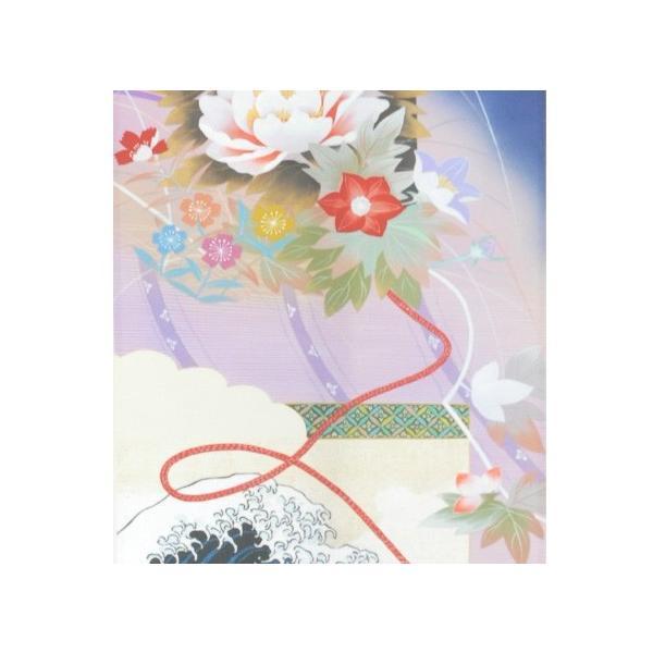 ミニ掛け軸 描表具 神奈川沖浪裏 盆栽 ミニ盆栽 掛軸
