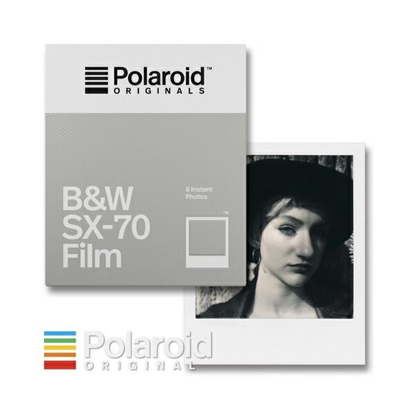 Polaroid Originals B&W SX-70 Film ポラロイド フィルム モノクロフィルム SX-70カメラ用