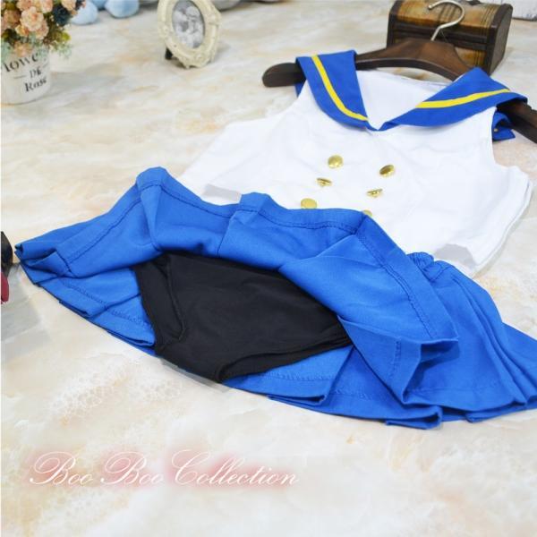 艦隊これくしょん -艦これ-島風 セーラー服 学生服 衣装 コスプレ 仮装 制服|boo-colle|09