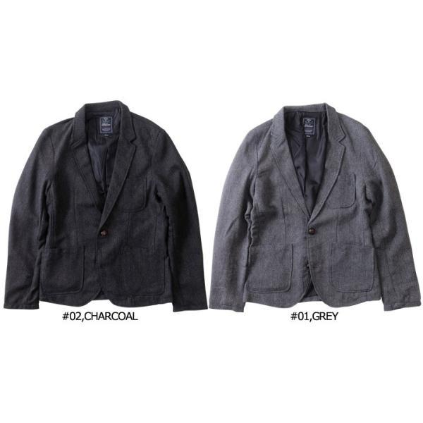ジャケット ヘリンボーンツイード テーラードジャケット 【3ピース用】 メンズ アメカジ 送料無料|boogiestyle|04