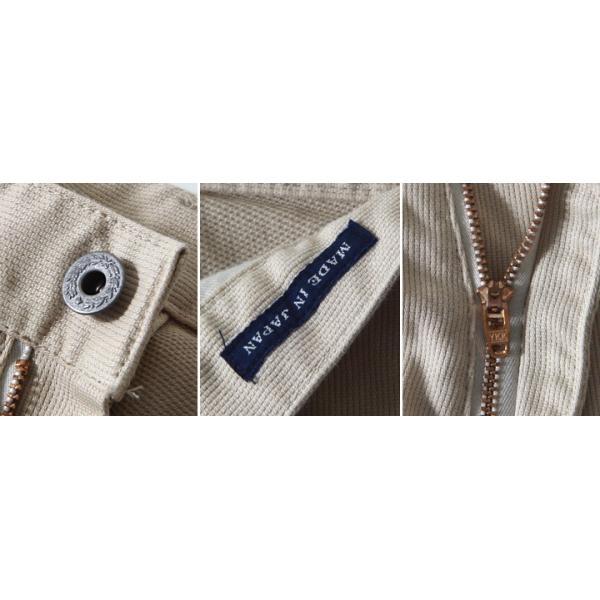 BILLVAN 日本製 ヴィンテージ・ピケ 尾錠付き スリムパンツ JPN009 メンズ アメカジ 送料無料|boogiestyle|05