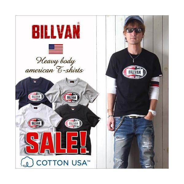 Tシャツ BILLVANアメリカンスタンダード チャンピオンシップ  プリントTシャツ 28136 メンズ アメカジ|boogiestyle