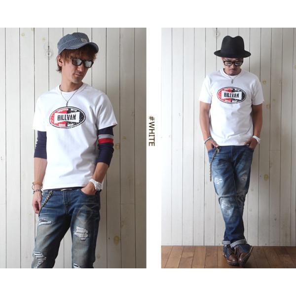Tシャツ BILLVANアメリカンスタンダード チャンピオンシップ  プリントTシャツ 28136 メンズ アメカジ|boogiestyle|02