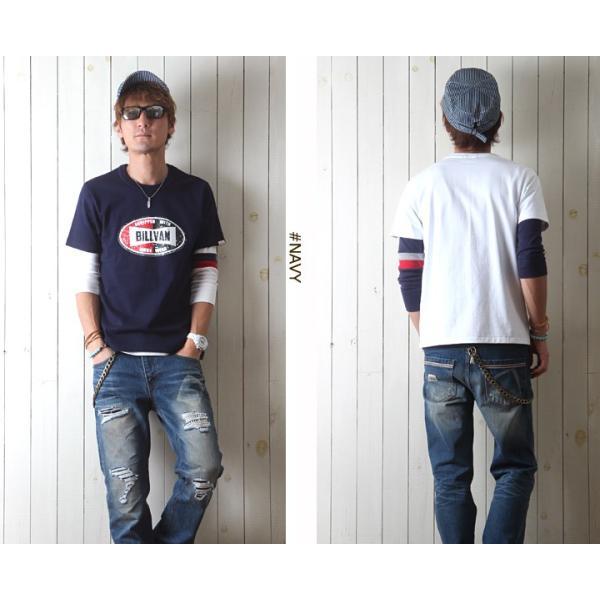 Tシャツ BILLVANアメリカンスタンダード チャンピオンシップ  プリントTシャツ 28136 メンズ アメカジ|boogiestyle|04
