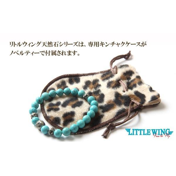 LITTLE WING スカルチャーム×天然石ブレス LW009 パワーストーン アメカジ メンズ アメカジ|boogiestyle|06