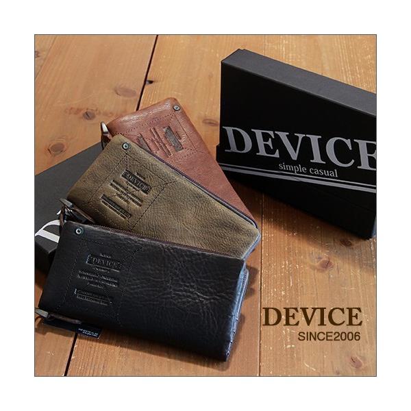 94b3f7da965d DEVICE 本革仕様 着脱コインケース2つ折り長財布/ロングウォレット/デバイス ...