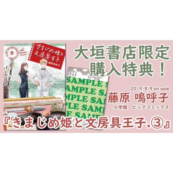[大垣書店限定特典付] きまじめ姫と文房具王子 3|books-ogaki|03