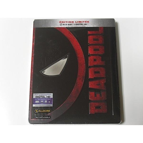 デッドプール ブルーレイ スチールブック限定盤 輸入盤 日本語字幕・吹替あり|bookschirol