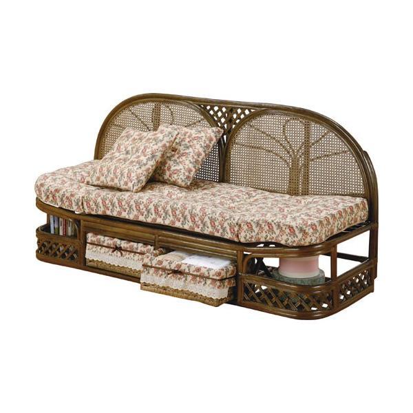 2人掛け籐カウチソファ 幅145cm y712b 籐家具 籐 ラタン家具 ラタン ラタン製 椅子 チェア ソファー ソファ