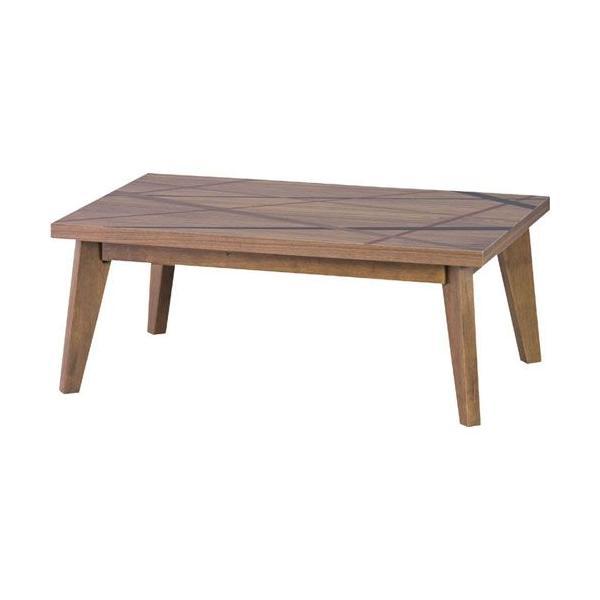 こたつテーブル おしゃれ テーブル 長方形 リネア 幅105cm ブラウン コタツ 炬燵 こたつテーブル コタツテーブル 暖房器具 ヒーター リビングテーブル|bookshelf