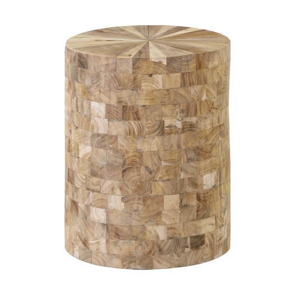 円柱形 おしゃれ ウッドスツール B スツール 木製スツール 椅子 サイドテーブル 台