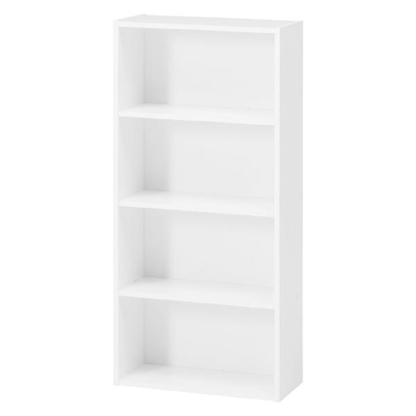 コミック本棚 薄型(漫画&文庫向け) 幅42cm高さ89cm ホワイト 81397 おしゃれ 安い|bookshelf