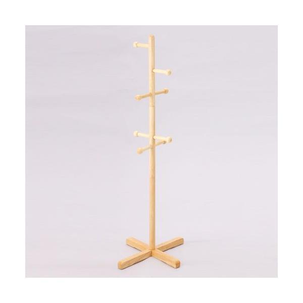 子供用木製ポールハンガー ナチュラル ポールハンガー ハンガーポール ラック ハンガー掛け カバン掛け かばん掛け スタンドハンガー ハンガー おしゃれ 安い|bookshelf
