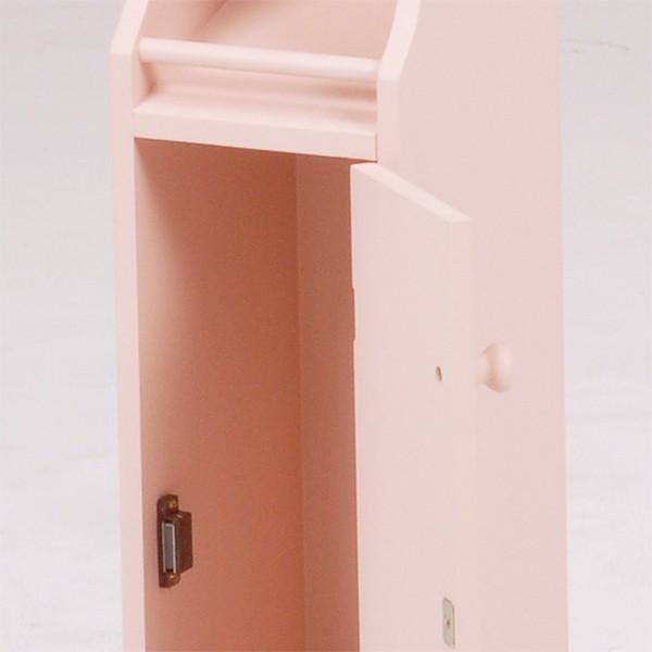 トイレコーナーラック 幅16cm高さ93cm ピンク MTR-4008PI hg-mt4008pi おしゃれ 安い|bookshelf|03