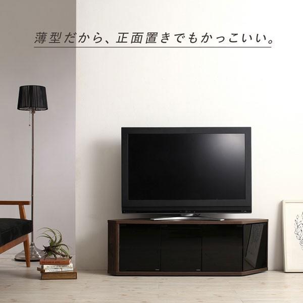 角度調節可能 隠しキャスター付き ハーフコーナーテレビボード Cornerα コーナーアルファ 幅86.8|bookshelf|07