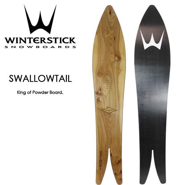 Winter Stick ウィンター スティック スノーボード 板 スワローテール Swallowtail ニセコエリア 限定 パウダーボード GENTEMSTICK ゲンテン|boomsports-ec