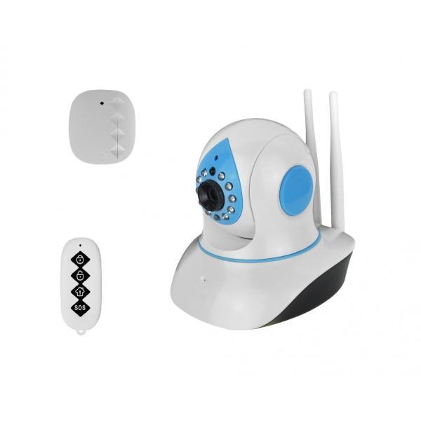 有線/無線LAN対応 スマートホームセキュリティカメラセット
