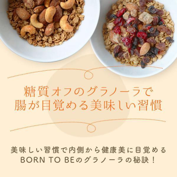グラノーラ  Beauty Cocoa(有機チョコチップ入)180g グルテンフリー ノンシュガー 有機ナッツ 有機ドライフルーツ|born-to-be|07