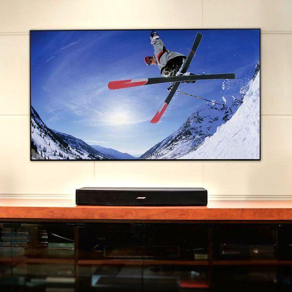 薄型テレビをより良いサウンドで楽しむ Bose Solo 15 TV サウンドシステム
