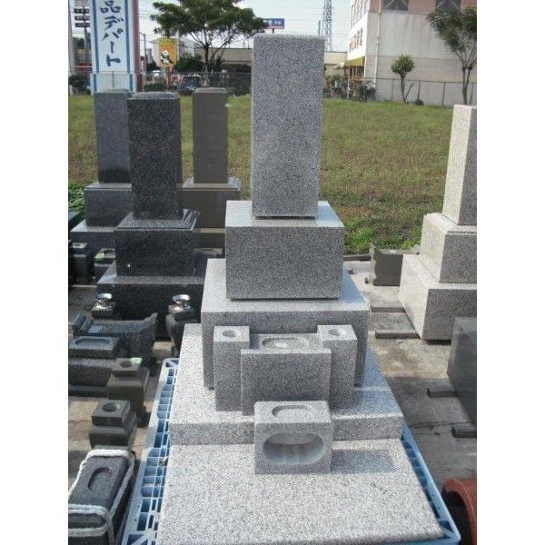 墓石 デザイン洋型 和型8寸24cm角