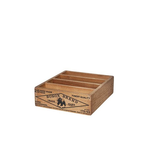 ウッデン ボックス フォー ポストカード ナチュラル CH14-H502NT NN DULTON ダルトン ウッドケース 仕切りボックス