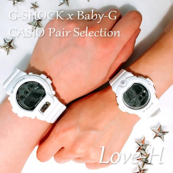 CASIO ジーショック 腕時計 ペアセレクション LOVE-H G-SHOCK Baby-G DW-6900MR-7JF BG-6900-7JF ペアウォッチ/ギフト/記念日/誕生日/クリスマス/カップル bostonclub