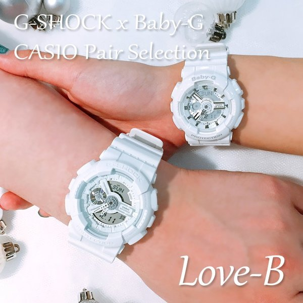 CASIO ジーショック 腕時計 ペアセレクション LOVE-B G-SHOCK Baby-G GA-110BC-7AJF BA-110-7A3JF ペアウォッチ/ギフト/記念日/誕生日/クリスマス/カップル|bostonclub