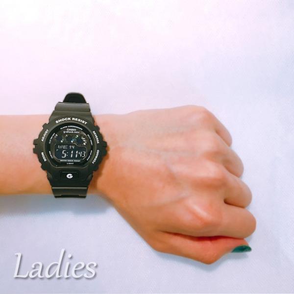ペアウォッチ Gショック ミニ ペア G-SHOCK G-SHOCKmini ジーショックミニ ペア CASIO カシオ 腕時計 ブラック 黒 GD-X6900-1JF GMN-691-1AJF LOVE-T|bostonclub|06