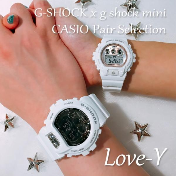 CASIO ジーショック 腕時計 ペアセレクション LOVE-Y G-SHOCK g-shock mini GD-X6900FB-7JF GMN-691-7BJF ペアウォッチ/ギフト/記念日/誕生日/カップル|bostonclub