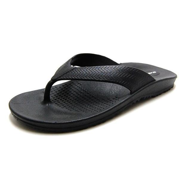 OKABASHI オカバシ メンズ サンダル Surf Flip Flop Black O-50001-010|bostonclub|02