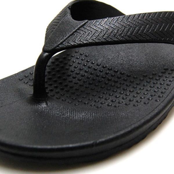 OKABASHI オカバシ メンズ サンダル Surf Flip Flop Black O-50001-010|bostonclub|06