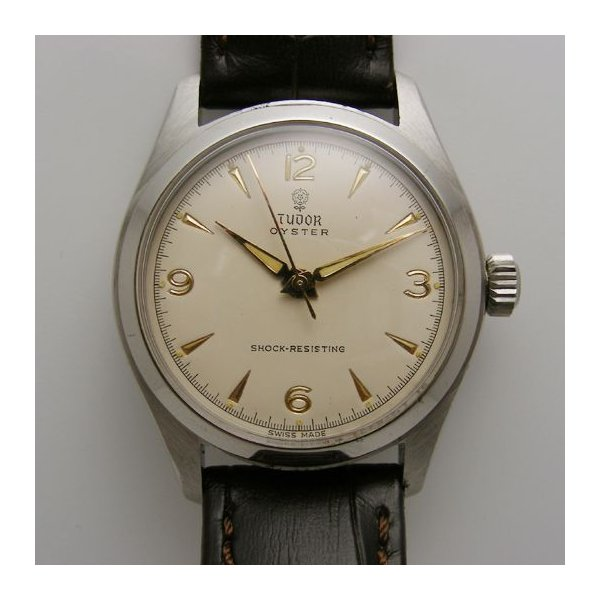 watch c3cec 7fd87 TUDOR チュードル チビ薔薇 OYSTER ボーイズ 手巻 1960年代《売 ...