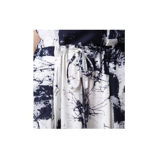 ワンピース チュニック ミモレ丈 ワンピ セット カーデ ミドル丈カーディガン  シャツワンピ  体型カバー  レディース春 夏  M L 2XL 3XL 4XL 5XL|bouquet-de-coton|08