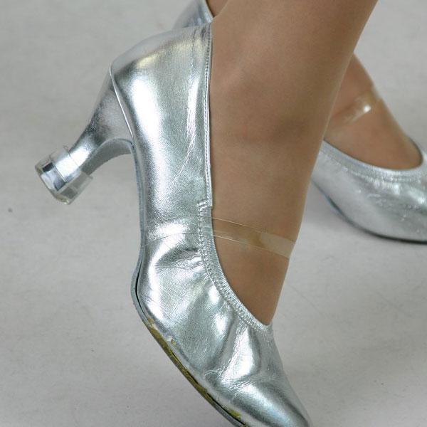 靴透明(クリア)ベルト シューズ留めバンド ダンスシューズバンド  アシスト ミュールバンド パンプスを脱げにくくします|bourree|02