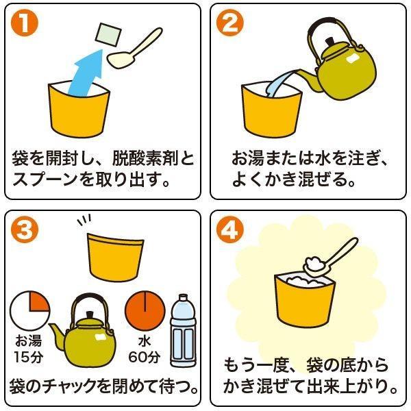 (非常食 保存食 5年保存 尾西食品)尾西のアルファ米 スタンドパック 松茸ごはん|bousaikeikaku|03