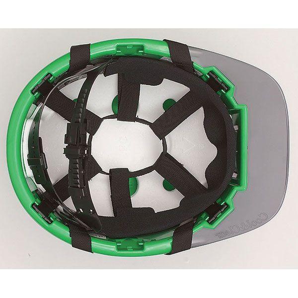 作業 工事 ヘルメット FP-3F(ライナー付) 建築土木用、工事用、アメリカン型 国家検定合格品 透明ヒサシ 通気孔|bousaikeikaku|02