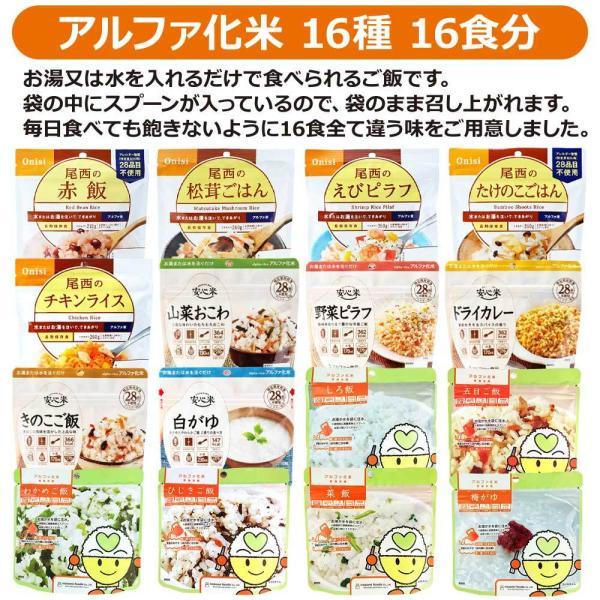 7日間21食分非常食セット(防災セット 防災用品 保存食 家族 家庭 災害 備蓄 食品 食料)|bousaikeikaku|09