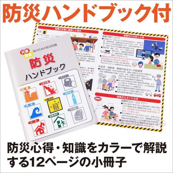 防災手帳 BH-500(防災グッズ 避難生活 災害 緊急) bousaikeikaku 03