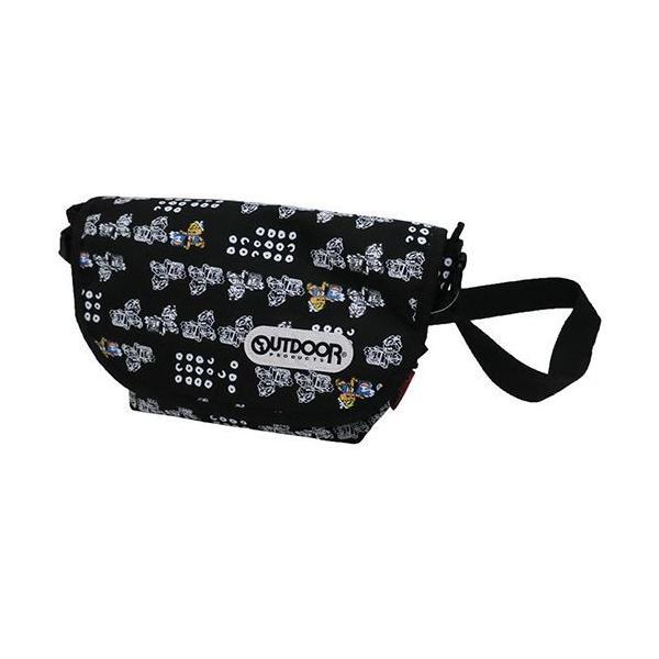 OUTDOOR(アウトドア)×出前一丁:メッセンジャーバッグ/出前坊や/メンズ&レディース/ファッション バッグ|boushikaban