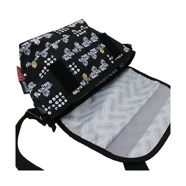 OUTDOOR(アウトドア)×出前一丁:メッセンジャーバッグ/出前坊や/メンズ&レディース/ファッション バッグ|boushikaban|04