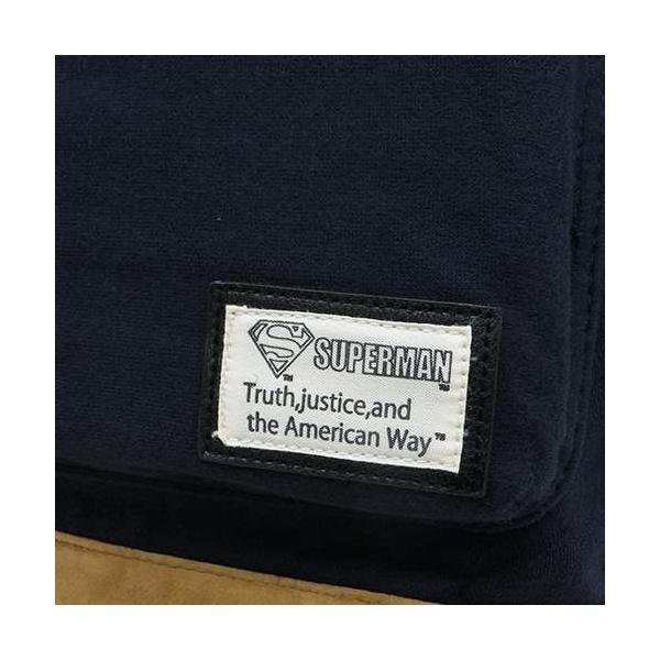 SUPERMAN(スーパーマン):フード付きスウェットデイパック/ネイビー/メンズ&レディース/ファッション バッグ リュック バックパック|boushikaban|04