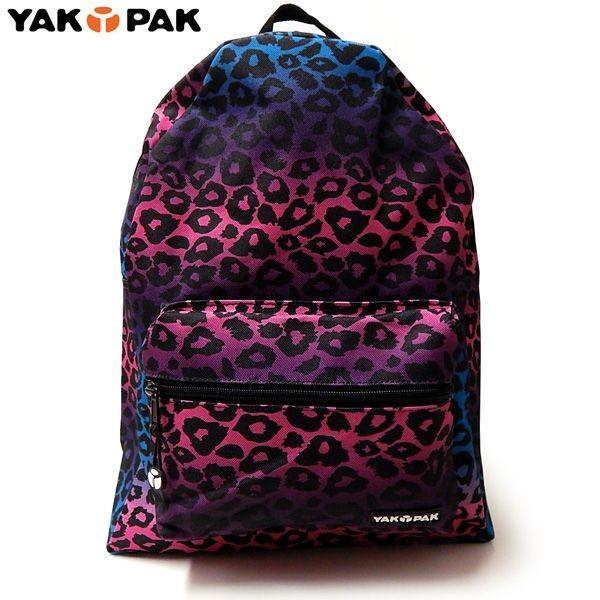 YAKPAK(ヤックパック):STUDENT BACK PACK/PPL OMBRE LEOPARD/メンズ&レディース/ファッション バッグ リュック バックパック|boushikaban