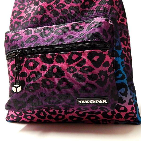 YAKPAK(ヤックパック):STUDENT BACK PACK/PPL OMBRE LEOPARD/メンズ&レディース/ファッション バッグ リュック バックパック|boushikaban|03