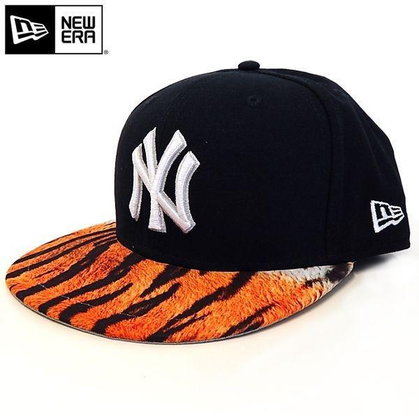 NEW ERA(ニューエラ):59FIFTY YANKEES VISOR REAL TIGER/NAVY×TIGER/メンズ/ファッション 帽子 キャップ|boushikaban