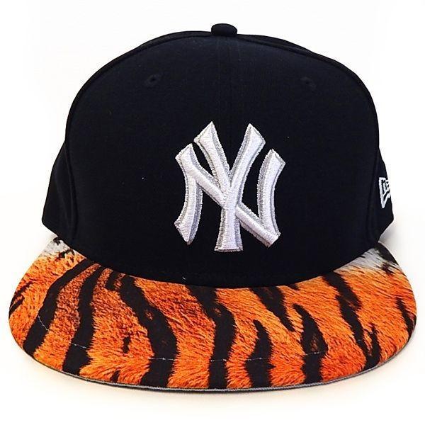 NEW ERA(ニューエラ):59FIFTY YANKEES VISOR REAL TIGER/NAVY×TIGER/メンズ/ファッション 帽子 キャップ|boushikaban|02