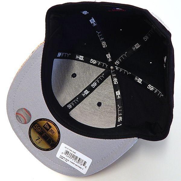 NEW ERA(ニューエラ):59FIFTY YANKEES VISOR REAL TIGER/NAVY×TIGER/メンズ/ファッション 帽子 キャップ|boushikaban|03
