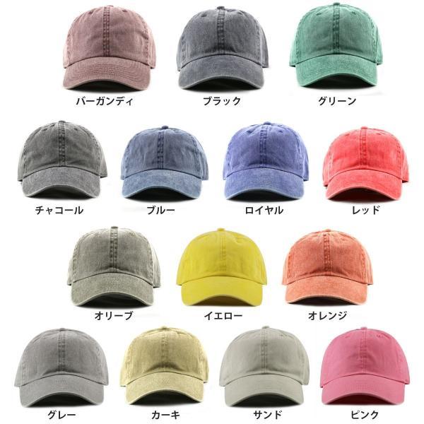 NEWHATTAN(ニューハッタン):ピグメント ベースボール キャップ/メンズ&レディース/ファッション 帽子|boushikaban|03