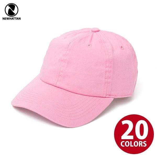 NEWHATTAN(ニューハッタン):ウォッシュドベースボール キャップ/メンズ&レディース/ファッション 帽子|boushikaban